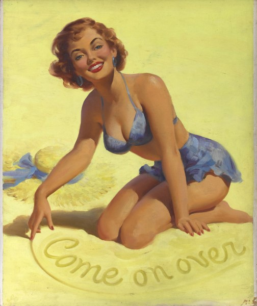 Come On Over pinup illustration.jpg