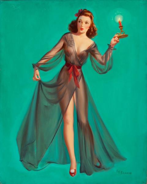 Pin-Up with a Candle.jpg