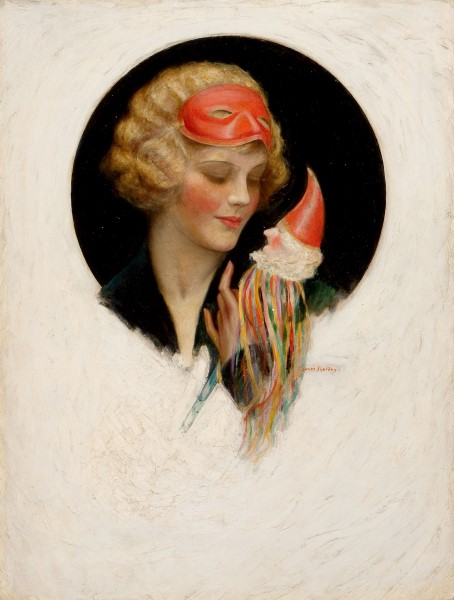 Lady with Puppet, The Saturday Evening Post cover, October 31, 1925.jpg