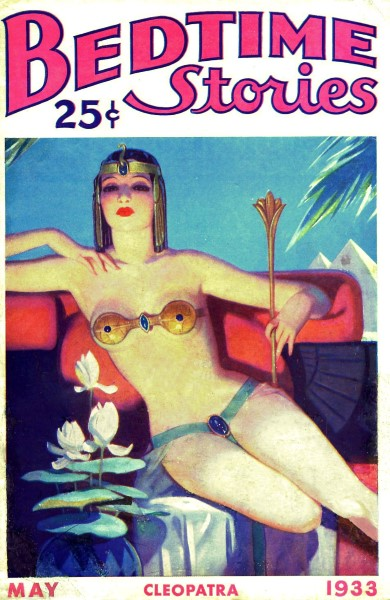 Bedtime Stories cover, 1933-05, Cleopatra.jpg