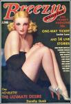 Breezy Stories cover, 1936-06