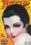 Breezy Stories cover, 1938-08